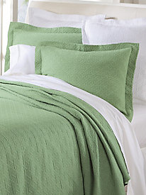 Lattice Matelasse Bedspread & Coverlet Collection