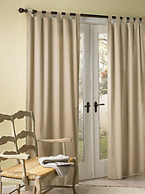 Insulated Tab Top Window Treatments