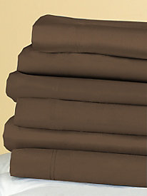 Luxury Essential 700 Thread Count Solid Fitted Sheet
