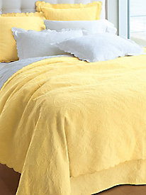 Luxury Supima Matelasse Bedding Collection