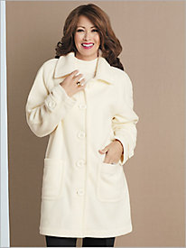 Fleece Topper Coat by Brownstone Studio®