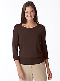 Three-Quarter Sleeve Hepburn Sweater