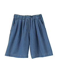 All Around Tencel-Blend Denim Shorts