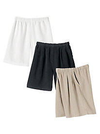 All Around Tencel-Blend Twill Shorts