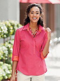 Colorblock Shirt by Foxcroft&#174