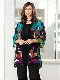 Hand-painted Silk Kimono