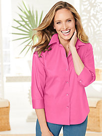 Foxcroft Wrinkle-Free Solid Shirt