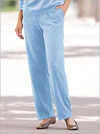 Pull-on Velour Pants by Brownstone Studio®