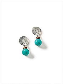 Treasure Turq Clip Earrings...