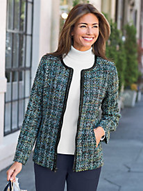Women's Tweed Jewel Jacket