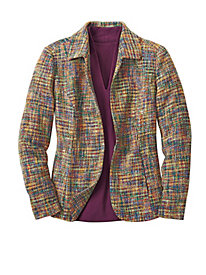 Women's Color Tour Tweed Jacket