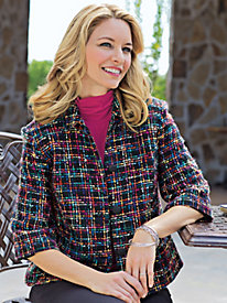Women's CityLights Tweed Jacket