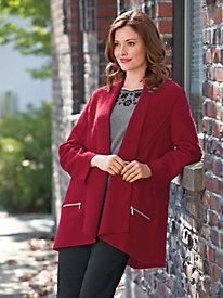 Women's Boiled Wool City Jacket