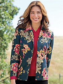 Women's Seams Perfect Floral Jacket