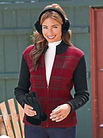 Women's Plaid Tidings Wool Jacket