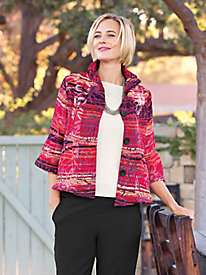Women's Sunset Floral Jacket