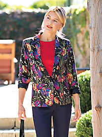 Women's Bella Flora Boyfriend Jacket