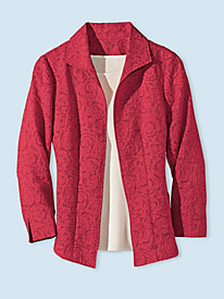Women's Cut Lace Jacket