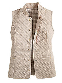 Women's Quilted Vest by Norm Thompson