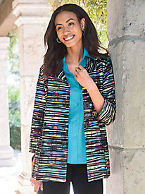 Women's Making Waves Multi-Color Jacket