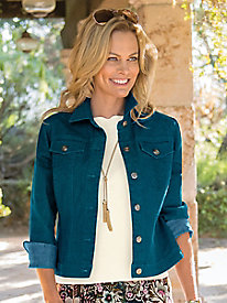 Women's Color-Me-Denim Jacket