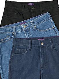 Women's NYDJ Straight-Leg Denims