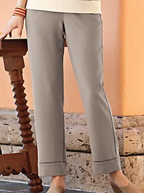 Women's Summer Escape Look of Linen Ankle Length Pants