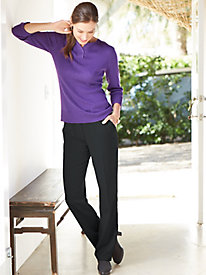Women's Invisible-Fit Bi-Stretch Pants