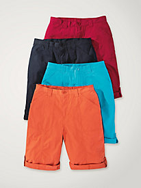 Women's Sun-Kissed Bermuda Shorts
