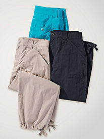 Women's Sun-Kissed Cotton Capris