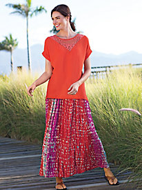 Women's Full-Sweep Skirt