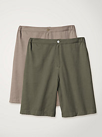 Women's Tencel Bermuda Shorts