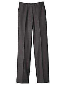 Women's Tweed Herringbone Straight Leg Pants