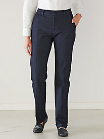 Women's Denim Trouser Pants