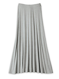 Women's Basic Maxi Skirt