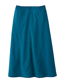 Women's Suedecloth Skirt