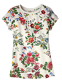 Women's Primary Floral Tee