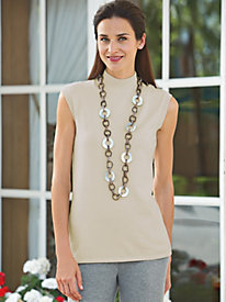 Women's Soft Landings Sleeveless Mock Tee