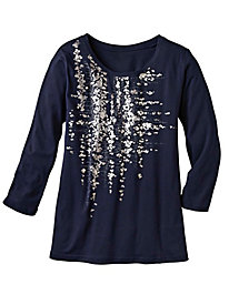 Women's 3/4-Sleeved LightSplash Top