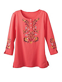 Women's Embroidered Tunic