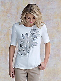 Women's Artsy Floral Tee