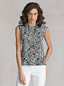 Women's Paisley Top