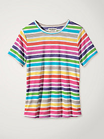 Women's Happy-Go-Lucky Striped Tee