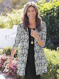 Women's Travel Ready Knit Duster