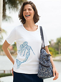 Women's Nautical Motif Tee