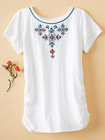 Women's Embroidered Tee