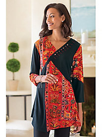 Women's Malta Floral Swing Tunic