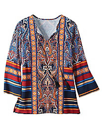 Women's Poet's Abbey Paisley Tunic