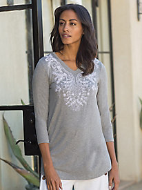 Women's Embroidered Allure Tunic