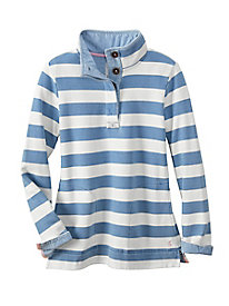 Women's Joules Saunton Funnel-Neck Sweatshirt